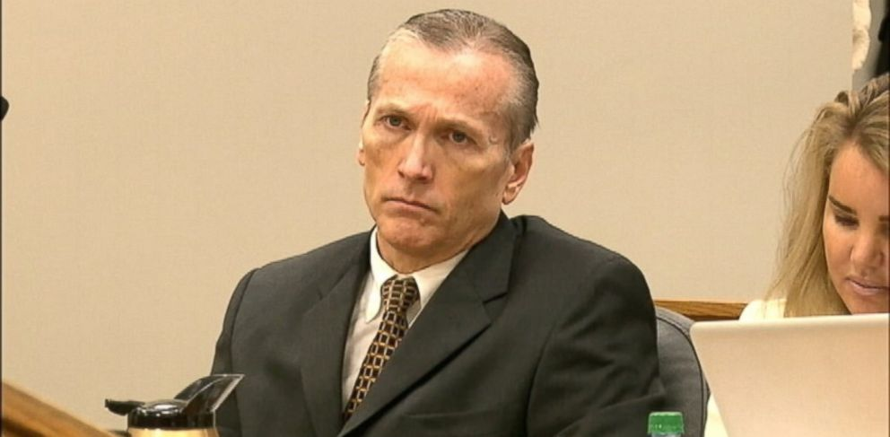 PHOTO: Dr. Martin MacNeill is shown in court during his trial in Provo, Utah on Oct. 31, 2013.
