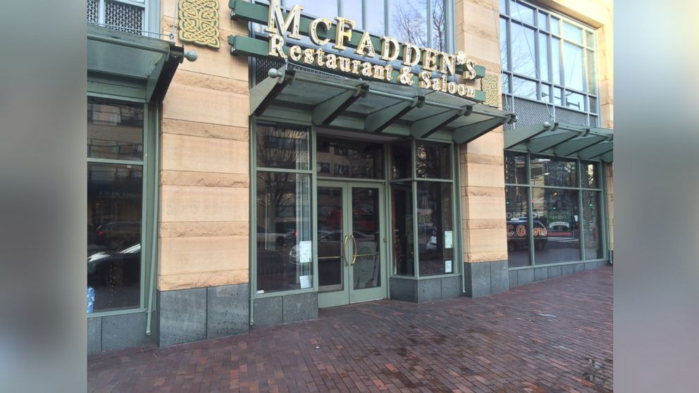 PHOTO: McFaddens Restaurant and Saloon in Washington, D.C., is shown in this photo taken Dec. 27, 2014.