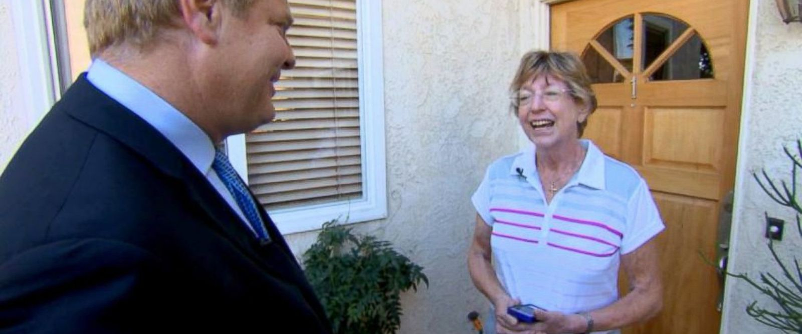 PHOTO: Michael Scott Moores mother reacts to news of his release.