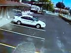 PHOTO: Van Crashes Into Motel