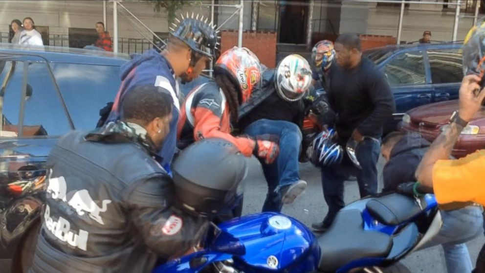 Bikers In Nyc Video PHOTO The calls were made