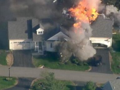 NH House Explodes After Police Officer Fatally Shot