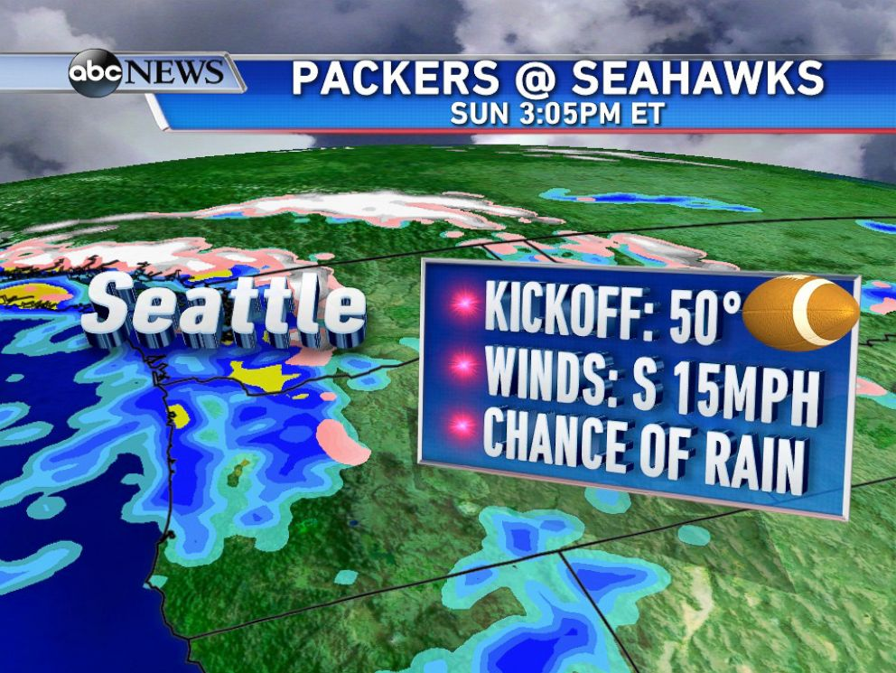 PHOTO: Here is the weather forecast for the NFC Championship Game on Sunday, January 18, 2015