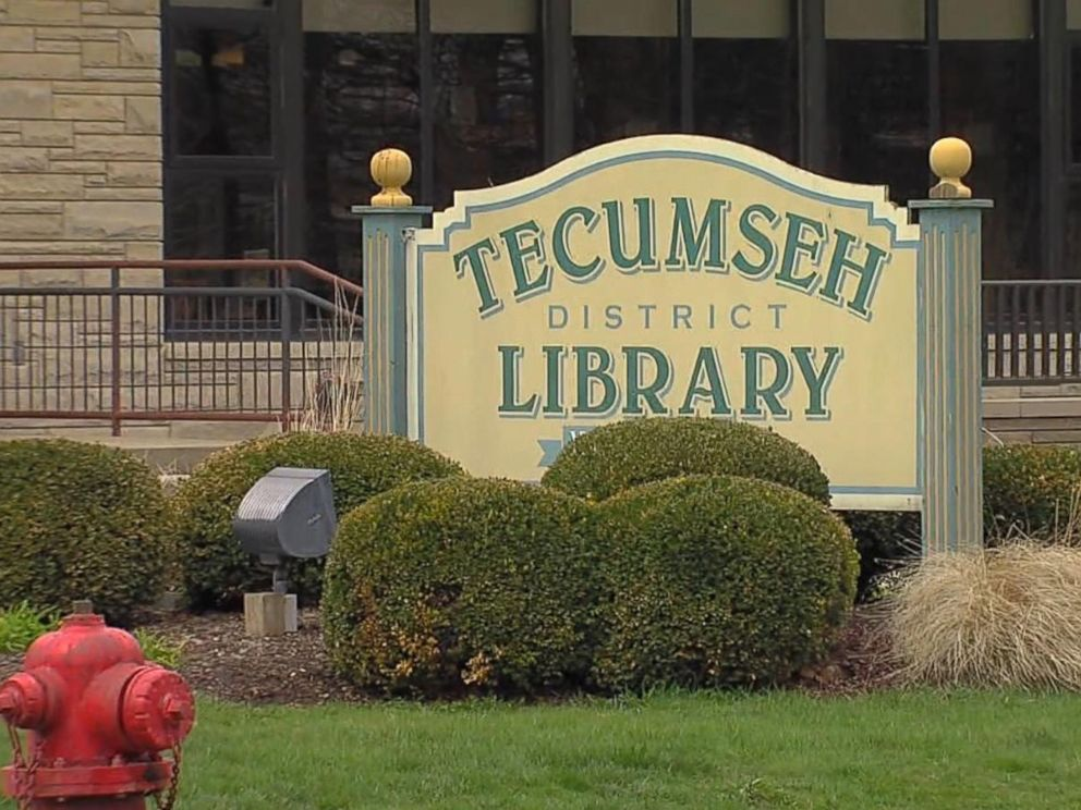 PHOTO: Catherine Duren and Melvin Duren each had books overdue from the Tecumseh District Library. They were charged $55 with replacement and late fees.