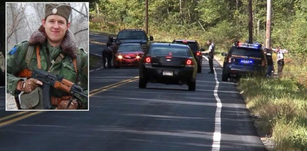 PHOTO: A manhunt for shooting suspect Eric Frein, pictured, is underway in Pennsylvania.