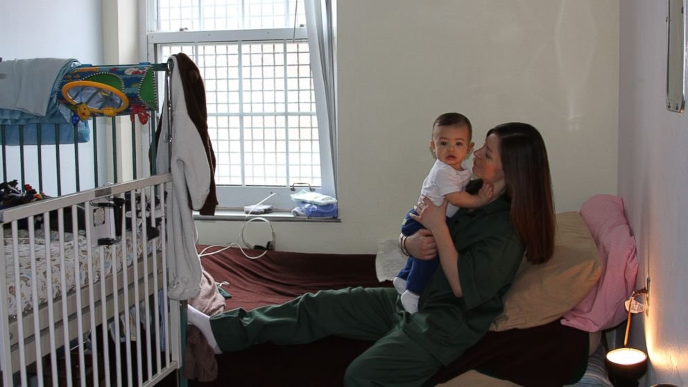 PHOTO: Jacqueline McDougall raised her son Max while incarcerated at Bedford Hills Correctional Facility for Women in Bedford Hills, N.Y.