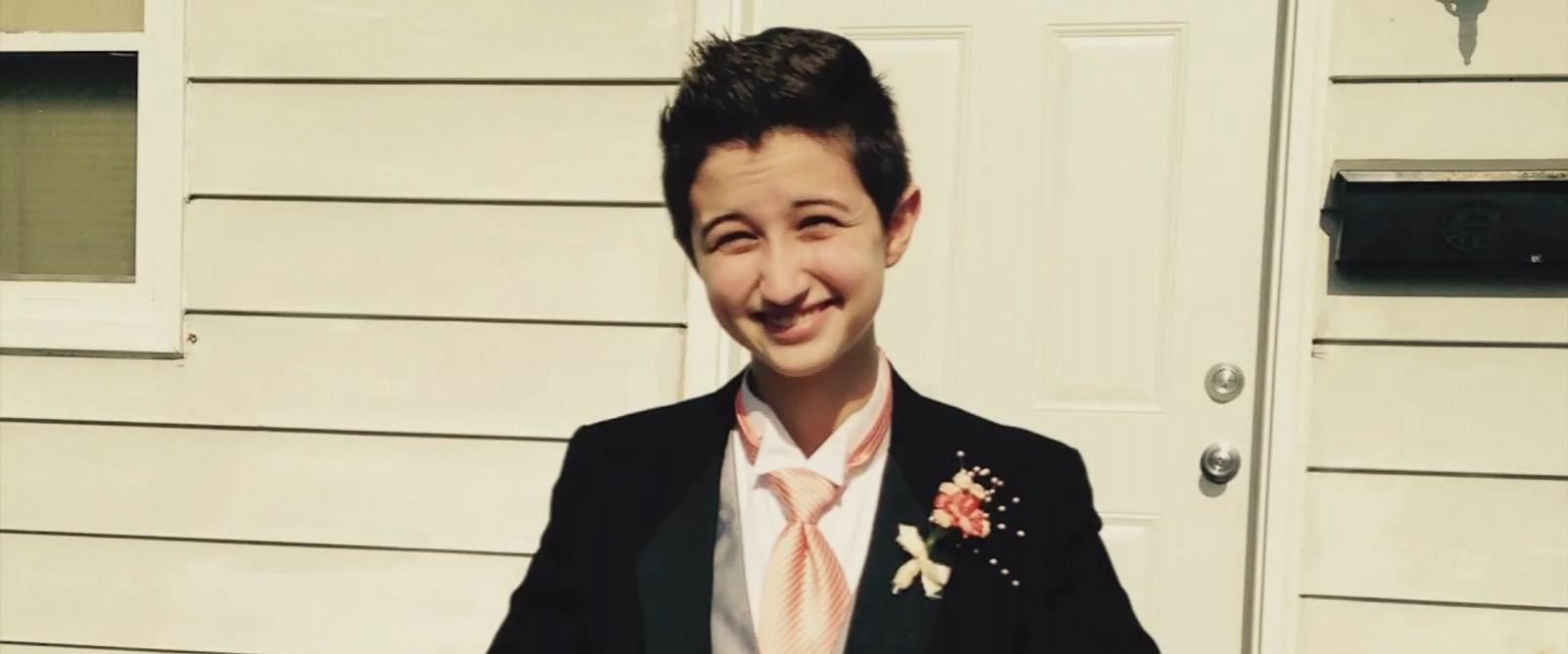 PHOTO: Transgender teen Ash Whitaker won the right to run for Prom King in Kenosha, Wisconsin.