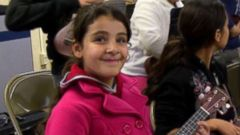 PHOTO: Aya Al Jawabra is in fifth grade at Chrysler Elementary School in California.