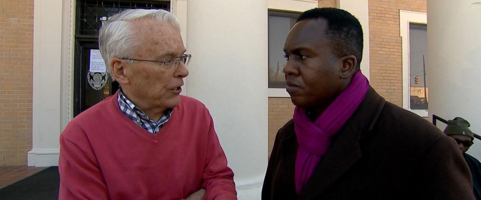 PHOTO: Rev. Clark Olsen tells ABC News about the death of activist James Reeb in 1965.