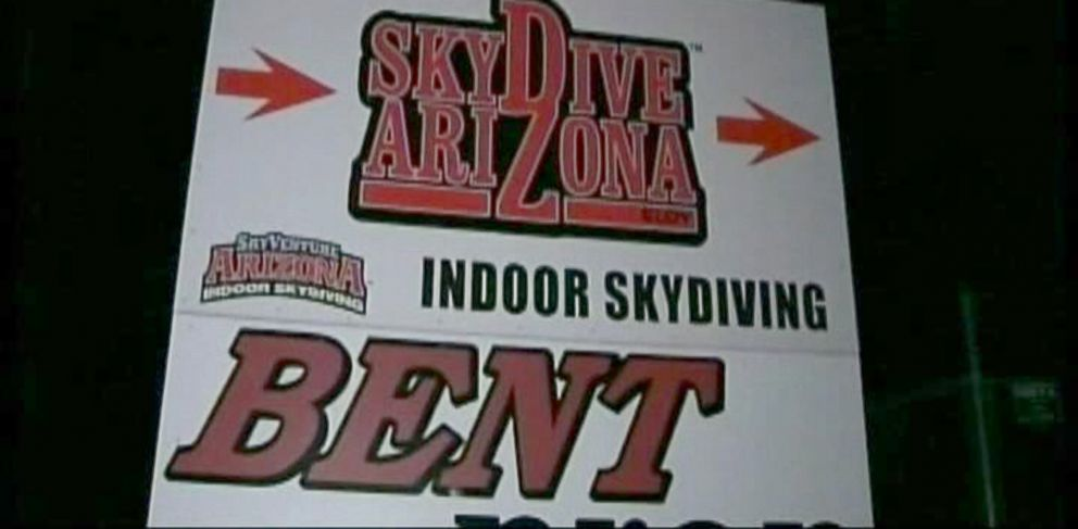 PHOTO: Two skydivers have died after a mid-air collusion, Dec. 3, 2013, in Eloy, Ariz.