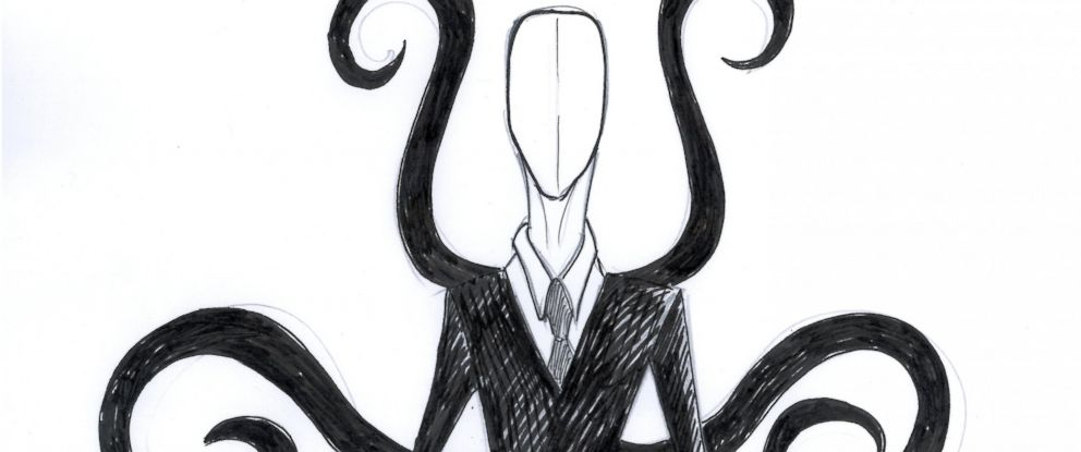 PHOTO: One of many internet drawings of the fictional character, Slender Man.