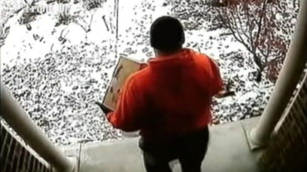 ABC stealing packages ml 131219 16x9 608 Neighborhood Grinches Stealing Packages From Homes