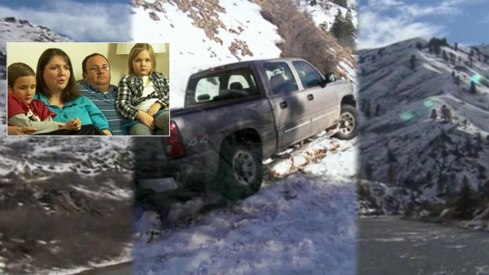 PHOTO: Two Idaho families got stranded in the snow this weekend and were forced to walk 19 miles to safety
