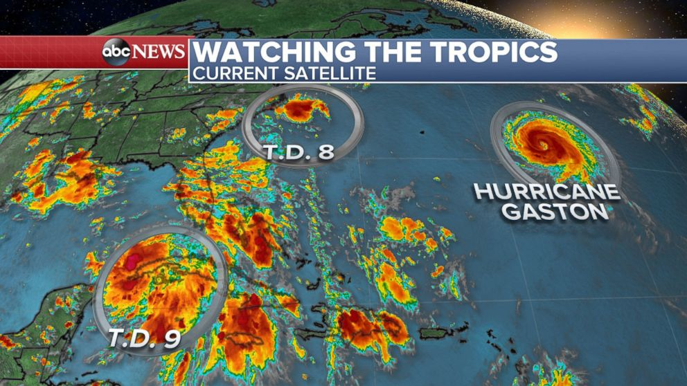 Active Tropics In The Atlantic As Peak Hurricane Season