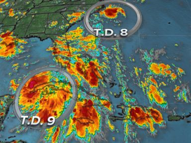 PHOTO: We are tracking three tropical systems in the Atlantic Basin.