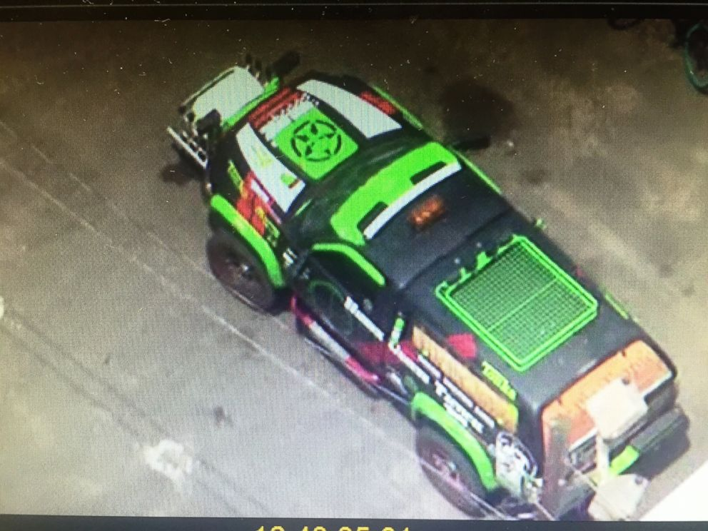 PHOTO: An image of the vehicle seized by police at the New Jersey side of Holland Tunnel, on June 21, 2016.