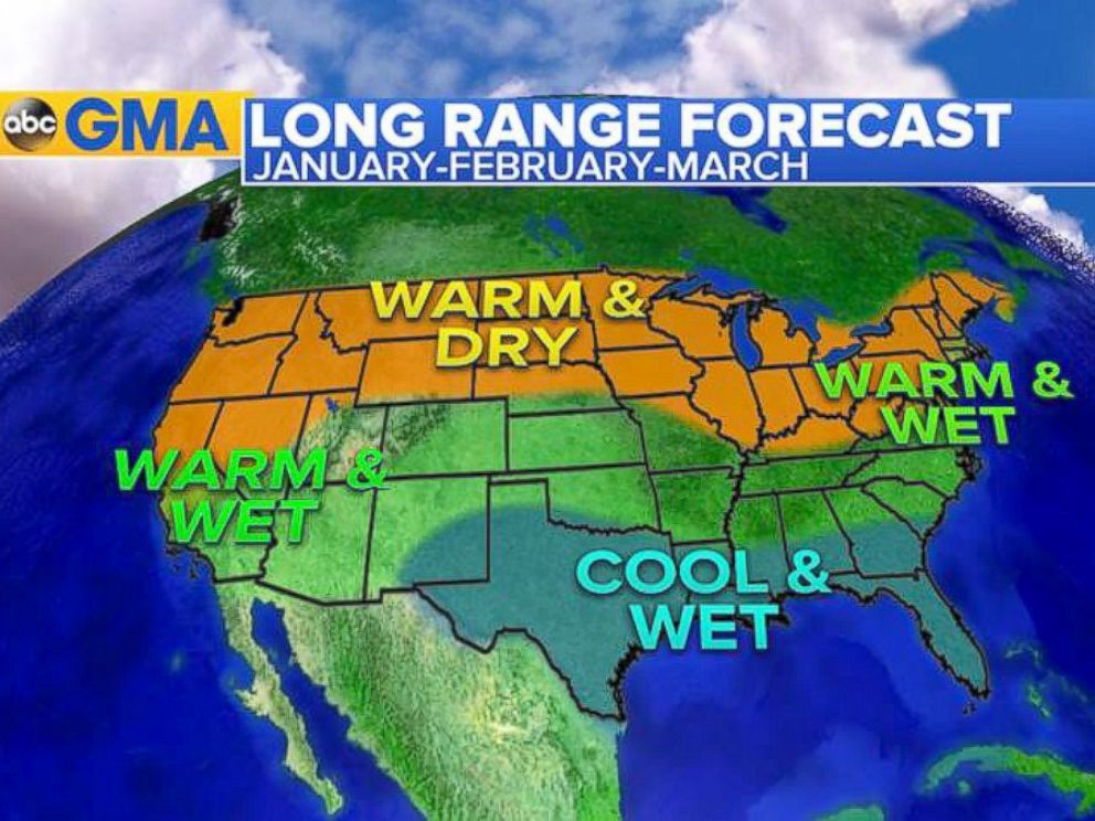 El Nino Update And What Kind Of Weather To Expect For Rest Of The - Us weather map march