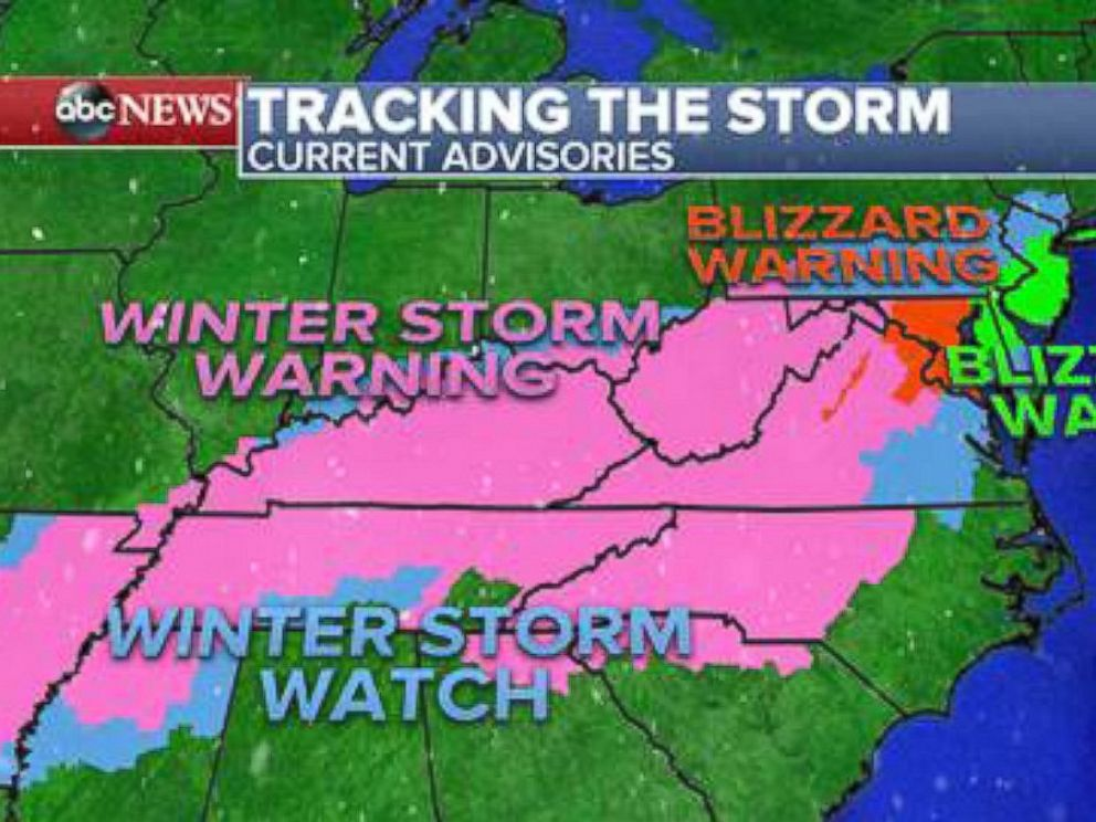 Photo The National Weather Service Predicts That The Upcoming Winter Storm Will Affect More Than