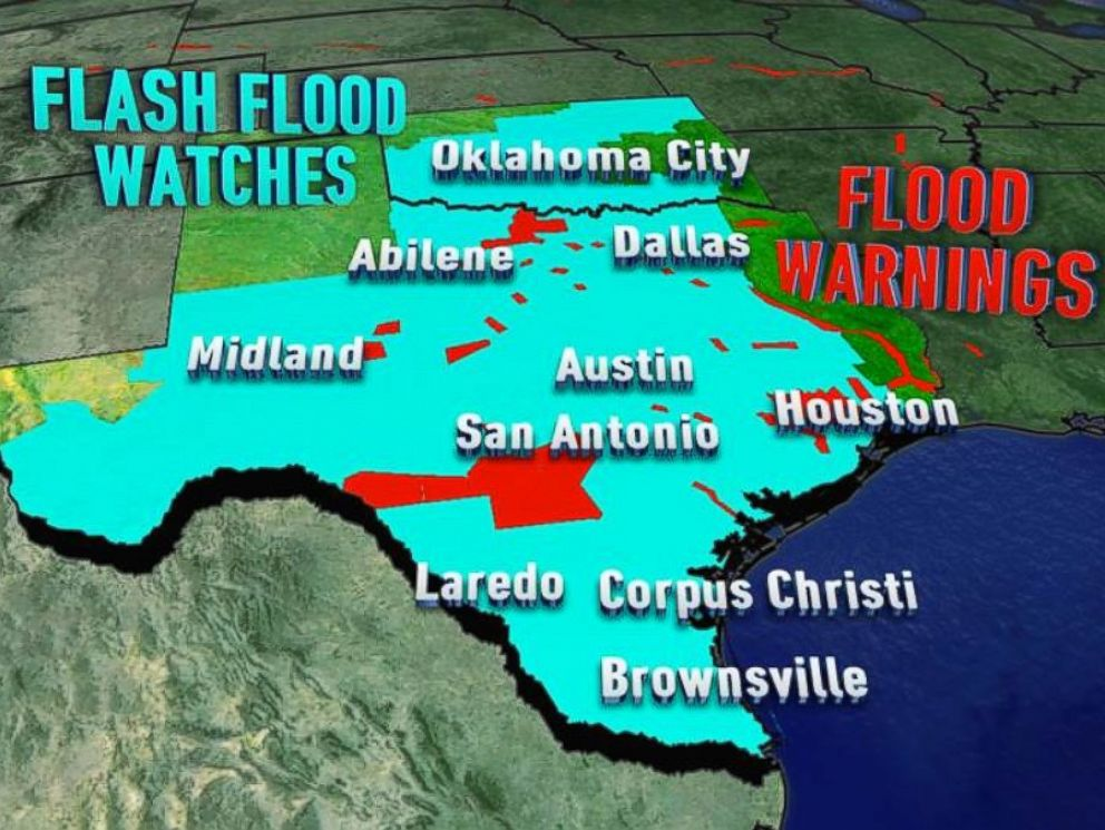 More Rain On The Way For FloodRavaged Texas Brazos River Reaches - Current weather flooding map of us