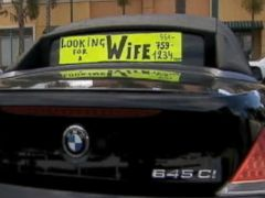 PHOTO: Alexander Gorbunov, 38, thinks his BMW will help him find his future wife.