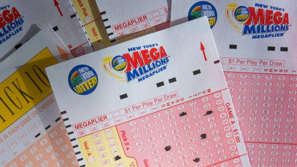 PHOTO: New York Lottery Mega Millions tickets are pictured in this undated stock photo.