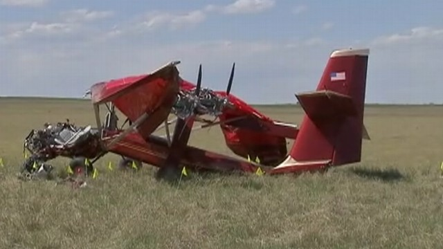 VIDEO: Richard M. Tackaburys 42-year-old daughter survived the landing accident.