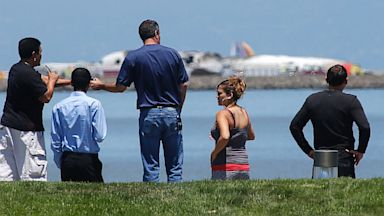 PHOTO: Asiana Flight 214 , San Francisco International Airport ,