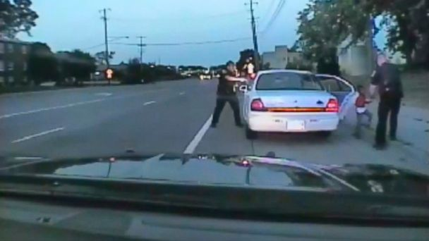 PHOTO: A video captured by a camera in the squad car of St. Anthony Police officer Jeronimo Yanez, the Minnesota police officer is shown after shooting into the vehicle at Philando Castile, during a traffic stop in Falcon Heights, Minn., July 6, 2016.