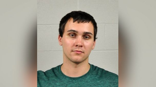 PHOTO: This photo released by the University of Maryland Police Department shows Sean Urbanski.  Urbanski was charged on May 21, 2017, with fatally stabbing a visiting student on campus in what police have described as an unprovoked attack.