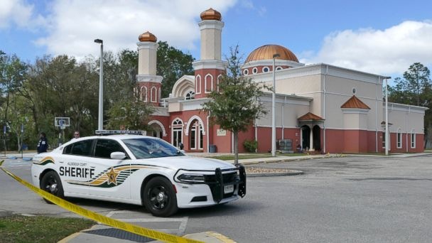 PHOTO: An arson was reported at the Daarus Salaam Mosque on Morris Bridge Rd. in Thonotasassa, Fla., early Feb. 24, 2017.
