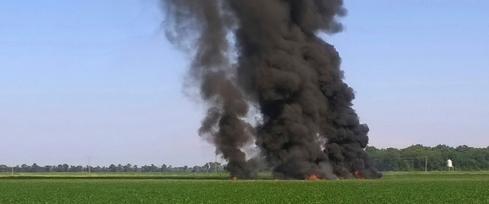 Image result for Marine Corps plane on training flight crashes in Mississippi; 16 dead