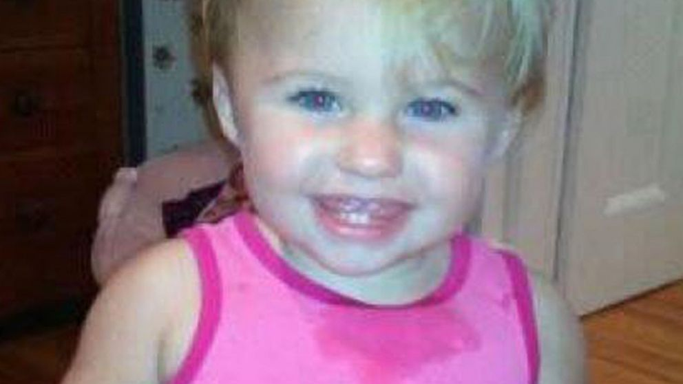 PHOTO: Missing toddler Alya Reynolds is seen in thisundated facebook picture.