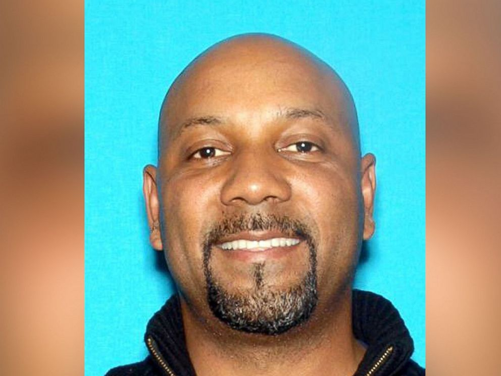 PHOTO: Cedric Anderson, 53, has been identified by authorities as the person who shot to death Karen Elaine Smith, 53, identified as his wife, as she taught a class at North Park Elementary School in San Bernardino, Calif., April 10, 2017.