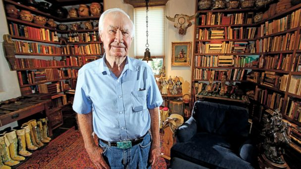 PHOTO: Forrest Fenn at his home in  Santa Fe, N.M., July 4, 2014.
