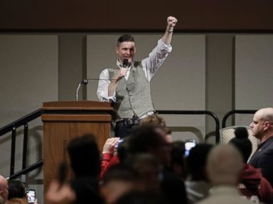 PHOTO: Richard Spencer is seen here, Dec. 6, 2016, in College Station, Texas.