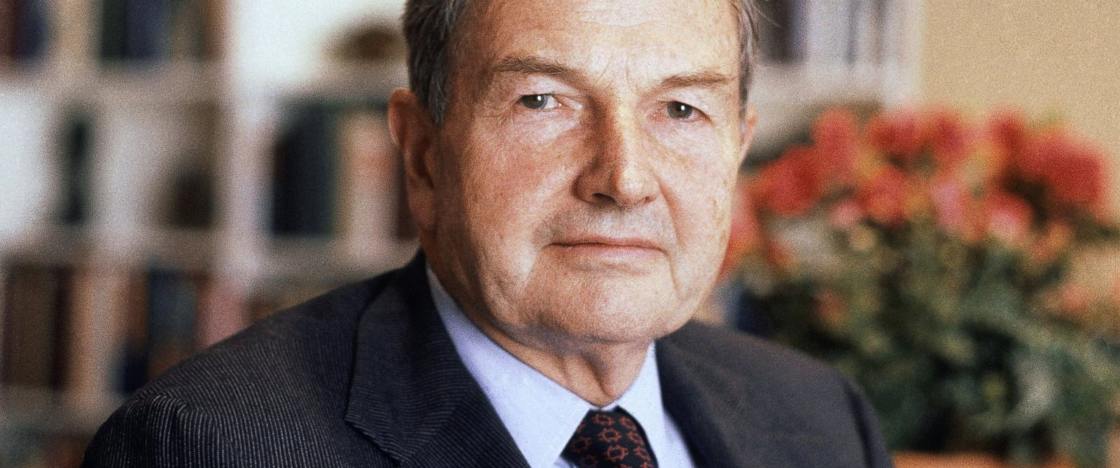 PHOTO: David Rockefeller is seen here April 31, 1981. The billionaire philanthropist who was the last of his generation in the famously philanthropic Rockefeller family died, March 20, 2017.