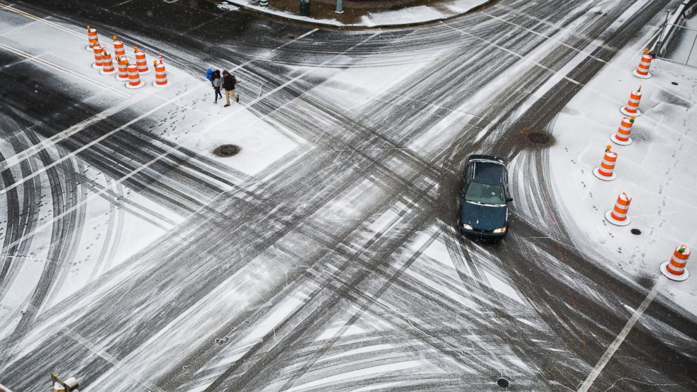 The South Braces for Storm of Snow and Ice