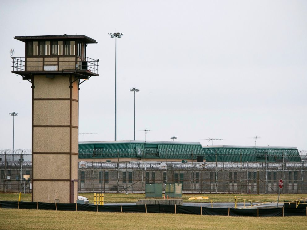 PHOTO: Vaughn Correctional Center near Smyrna, Del., remains on lockdown following a disturbance, Feb. 1, 2017.