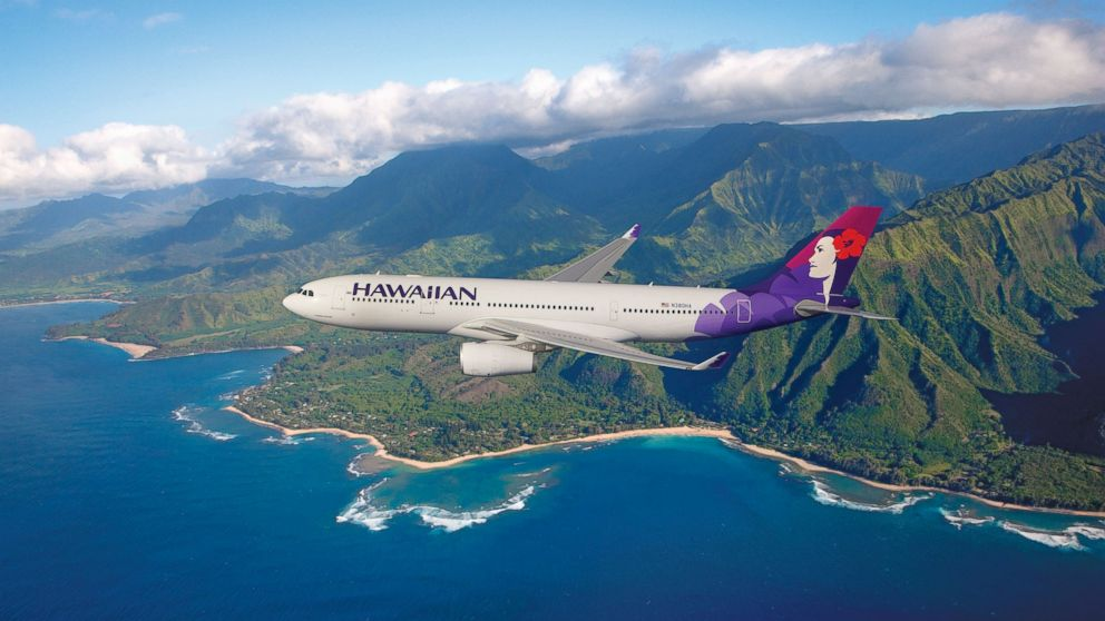PHOTO: Hawaiian Airlines plane