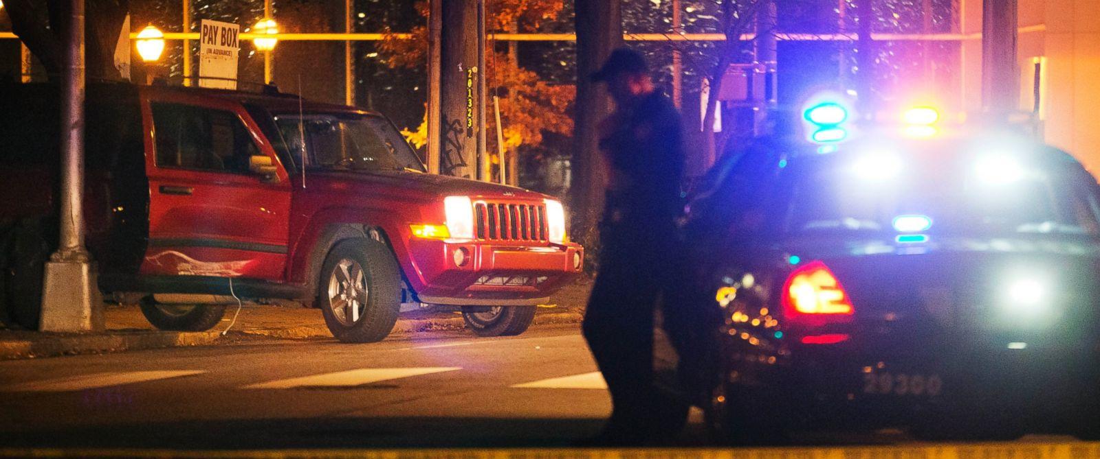 PHOTO: A police officer is seen in Atlanta, Nov. 30, 2015.
