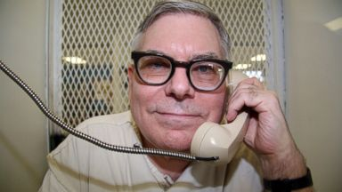 PHOTO: Texas death row inmate Lester Bower is photographed May 20, 2015, during an interview from a visiting cage at the Texas Department of Criminal Justice Polunsky Unit near Livingston, Texas.
