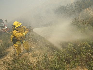 Lingering Wildfire Threat Unnerves Calif. Residents
