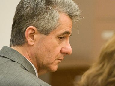 PHOTO: Paul Curry reacts as a jury declares him guilty of murder in the 1994 death of his wife, Sept. 30, 2014.