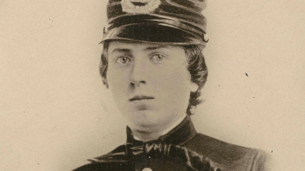 PHOTO: This undated photo provided by the Wisconsin Historical Society shows First Lt. Alonzo Cushing, who died in the Battle of Gettysburg in 1863.