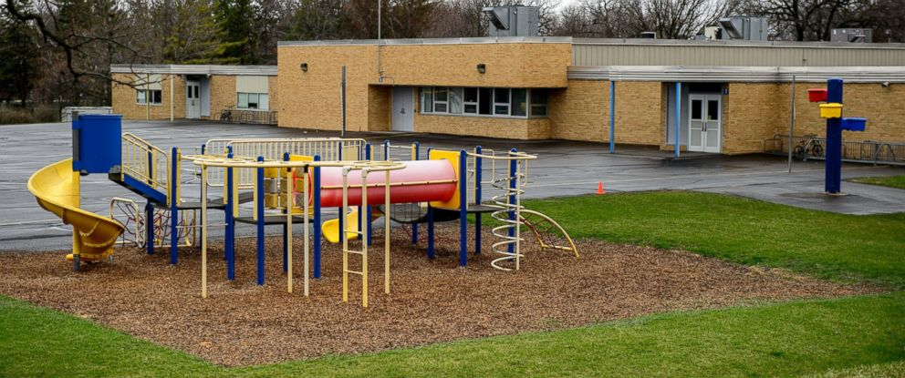 PHOTO: Bombs were allegedly found in March at Hartley Elementery School playground in Waseca.