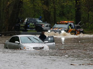 Swamped East Coast Bailing Out From Violent Storms