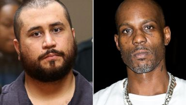 PHOTO: George Zimmerman, Rapper DMX