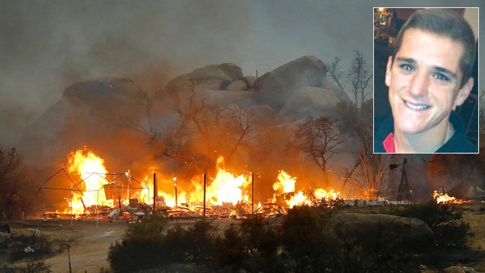 PHOTO: Grant McKee and 18 of his fellow crewmembers died in the Yarnell Hill Fire in Glenn Ilah near Yarnell, Ariz. on June 30, 2013.