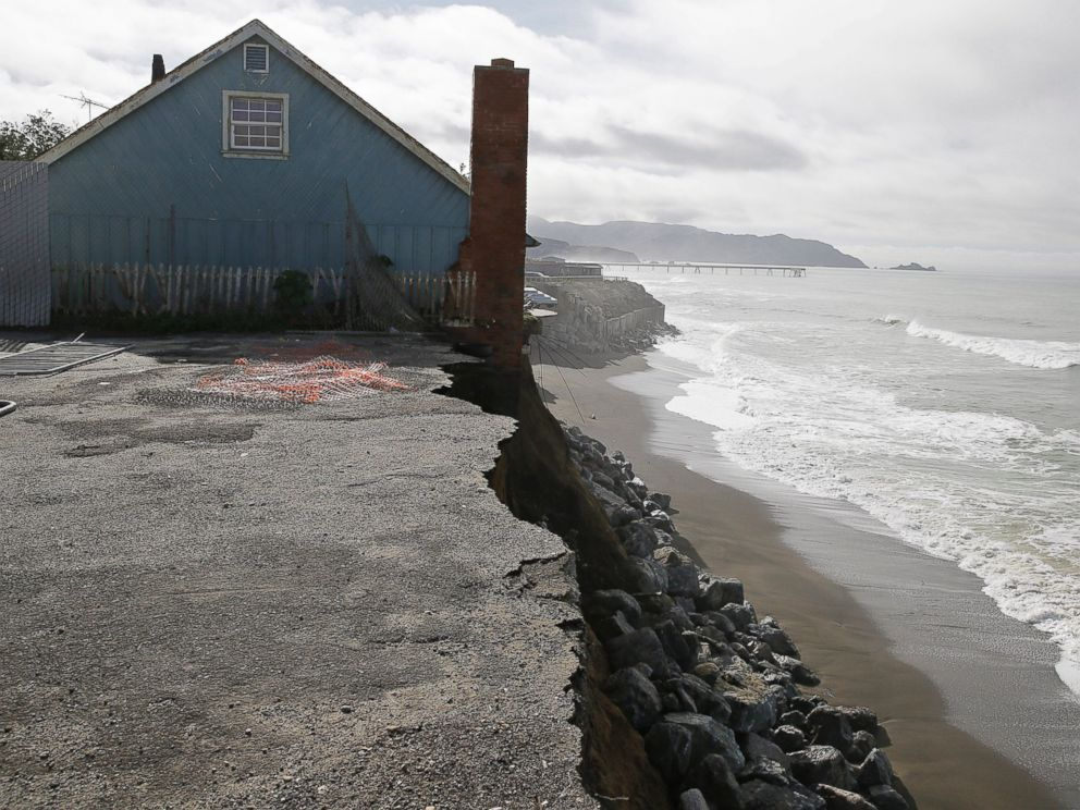 Dramatic photos show apartments just feet away from for Pacifica house
