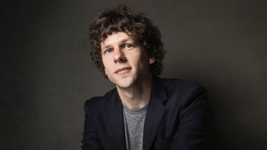 PHOTO: Jesse Eisenberg poses for a portrait at The Collective and Gibson Lounge Powered by CEG, during the Sundance Film Festival, on Friday, Jan. 17, 2014 in Park City, Utah.